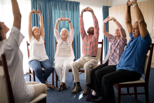 Chair Yoga: A Healthy Choice for Seniors
